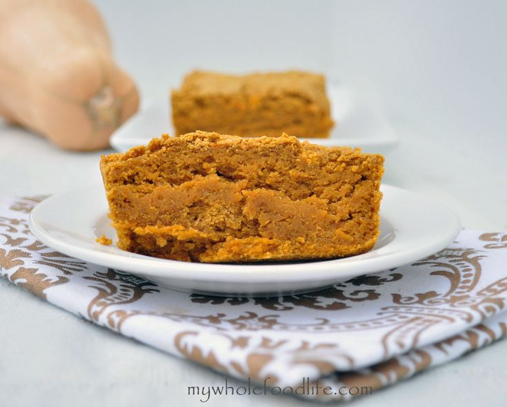 Gluten Free Butternut Squash Bread.  Super moist, full of fall spices and easy to make.  Vegan and no refined sugars.
