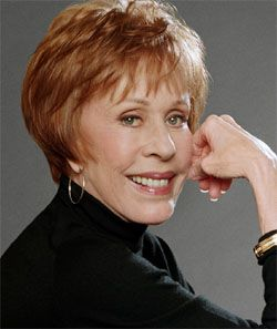 Carol-Burnett - (aka Carol Creighton Burnett) (1933 - ) Actress, comedian, singer, dancer writer - Known for The Carol Burnett Show 1967-2979, Annie 1982, The Secret World of Arrietty (2010), All My Children 1983 - 2011 Won 5 Golden Globe Awards  Nominated for 9 - Won 6 Emmys and Nominated for 16