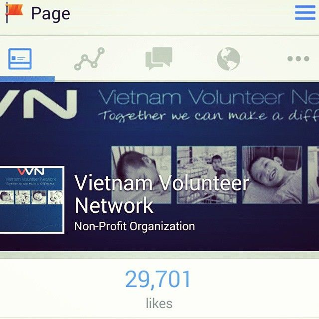 The VVN (Vietnam Volunteer Network) has reached 29,701 likes on #Facebook! Please help us to get to 40,000 on 30th April to celebrate me leaving #Vietnam as one of the last #orphans in 1975 on that date as well as 40 years since the end of the #VietnamWar, my 40th (I turned 40 February) as well highlighting the work my #VVN & I have done to help the orphanage's, children afflicted with #AgentOrangeAgent & other projects. Together we can make a difference…