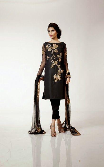 Fahad Hussayn Eid Dress Designs for Girls