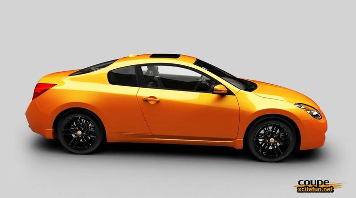 Nissan Altima Coupe Se R   I will own one of these one day.. but not in this color