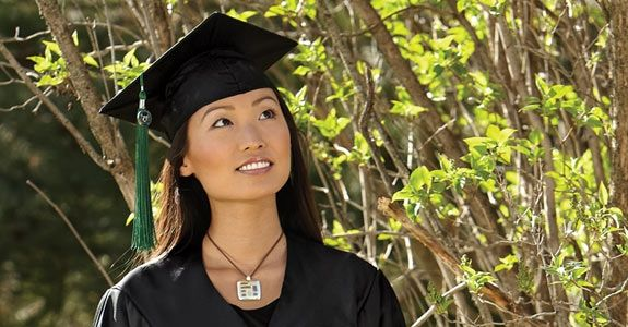 Graduation Cap Hairstyle Ideas