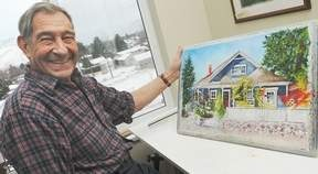 His watercolours have made Werner Braun an artistic icon in Kamloops. But in November 2007 he was hit by on of life's curveball's — the onset of Alzheimer's disease.