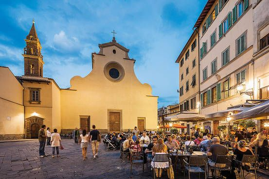 Oltrarno: Florence's Best Kept Secret -- from WSJ Magazine February 2016.  We couldn't agree more!  Wonderful part of the city.  Pictured here: Piazza Santo Spirito