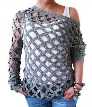 CrissCross Top free crochet graph pattern