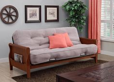 Comfortable Wood Sofa For Living Room
