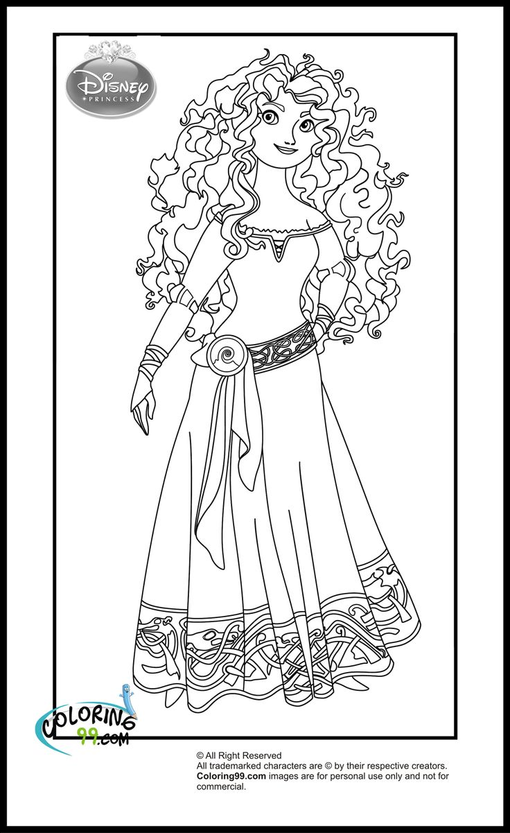 New Princess Coloring Pages : His daughter is obsessed with disney princesses and she