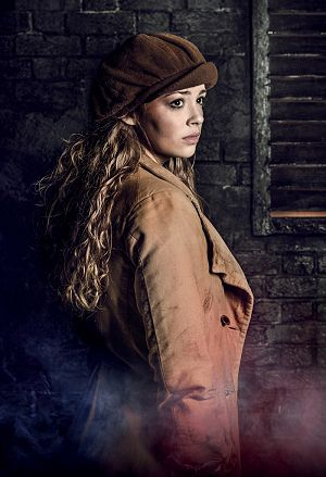 LES MISÉRABLES 30th Anniversary Postcards. Carrie Hope Fletcher as 'Eponine'.