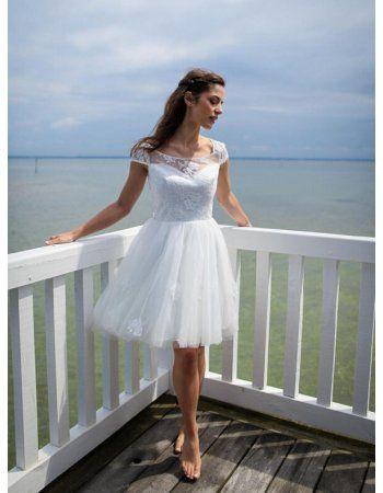 Summer wedding dresses short length