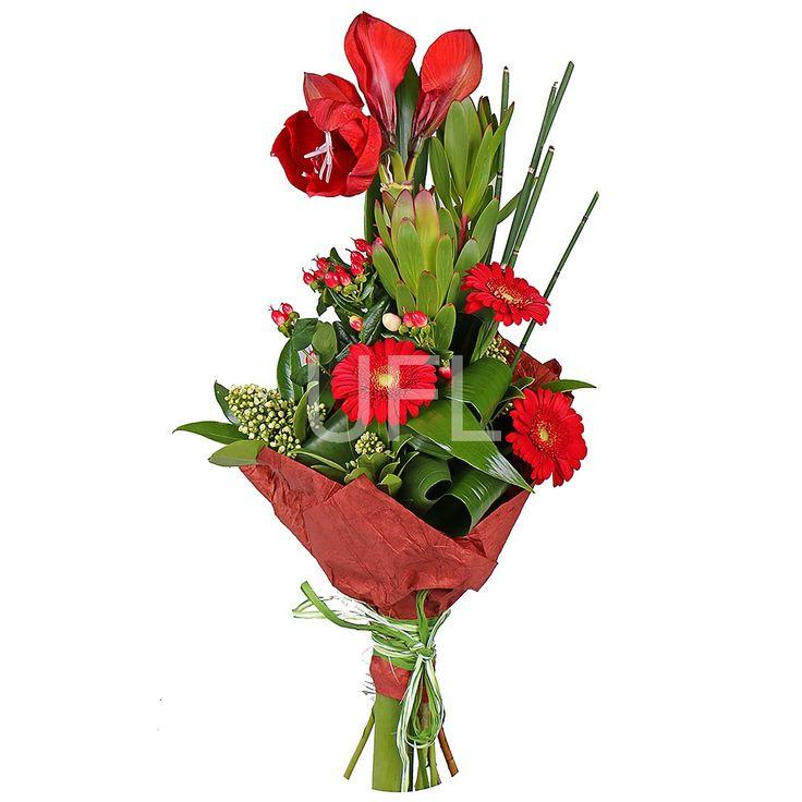 Какие цветы подарить мужу на юбилей 45 лет, красные коробке цветы