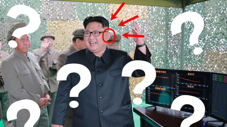 """Forensic software reveals how Kim Jong-un is frequently Photoshopped to """"look a bit more handsome"""" than he is in real life."""