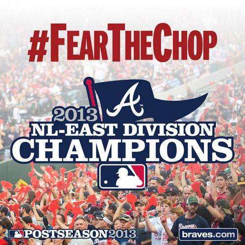 Atlanta Braves, 2013 NL East CHAMPS!