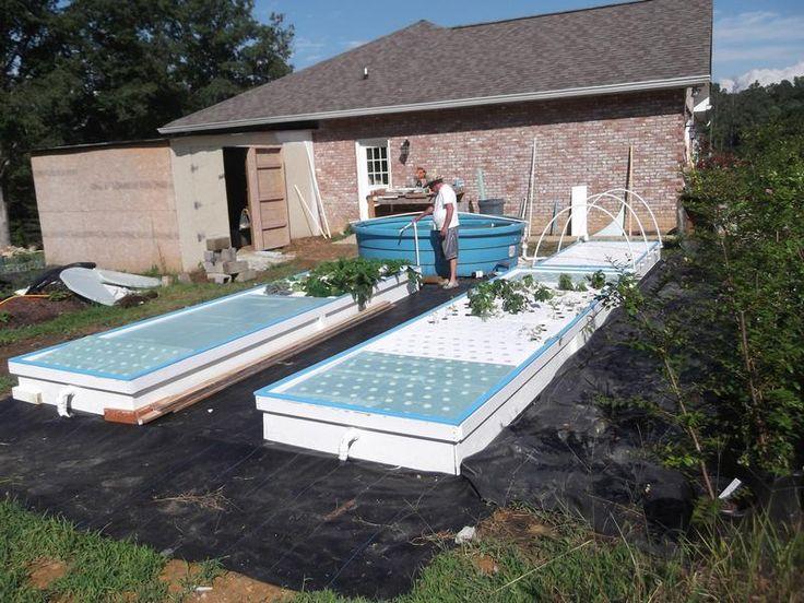 how to build an aqua farm