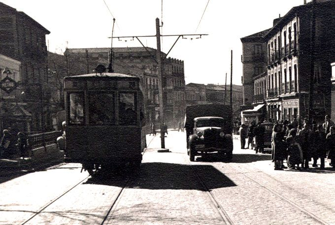 Tetuán, calle Bravo Murillo, 1950 - Portal Fuenterrebollo