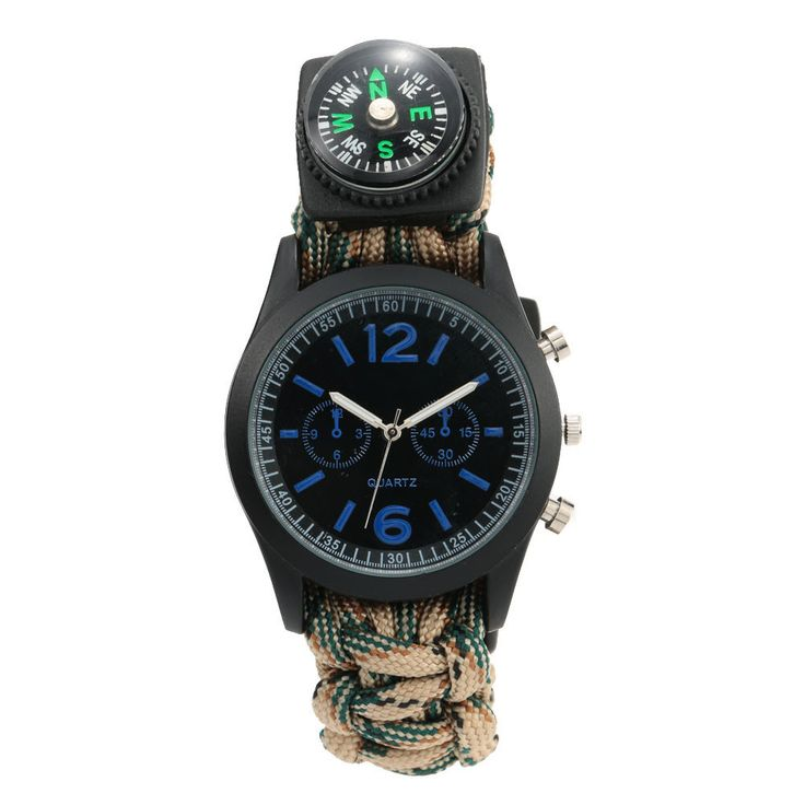 Survival Watch - If you only buy one piece of kit, buy this! - FREE SHIPPING