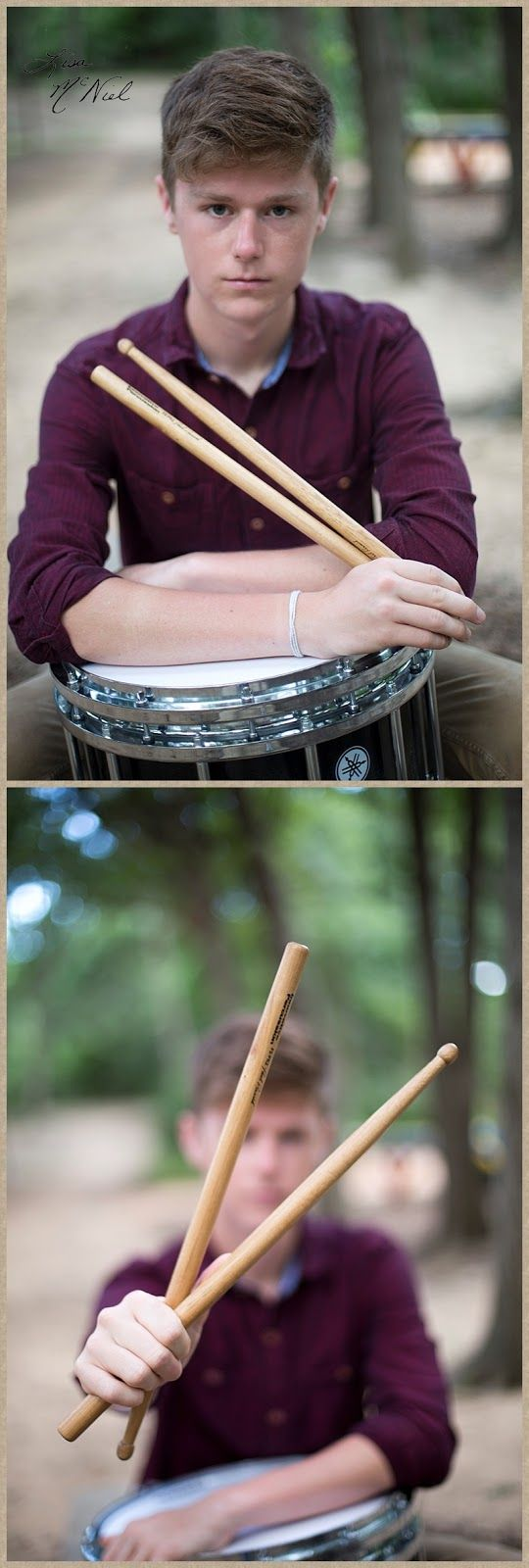 Click the pic for 9 more picture ideas for Senior boys, drummer, drums, band…