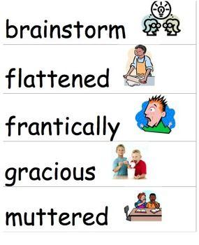 Wonders McGraw-Hill 4th Grade Vocabulary Cards Unit 1-6 FREE!!!!!