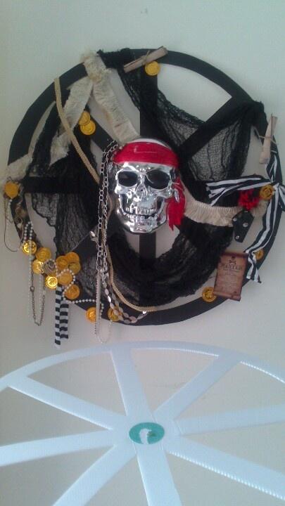 Pirate wreath By Juanita