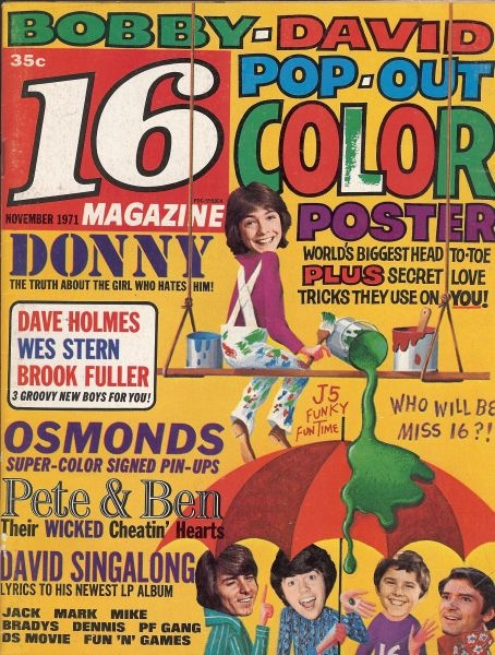 I loved these pin up mags, my walls were littered with posters from them.