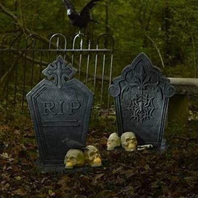 halloween decoration ideas an eerie frontyard - Front Yard Halloween Decorations