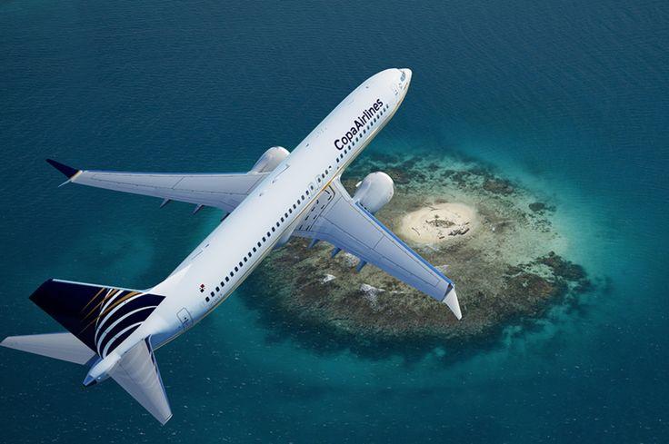 Boeing 737 MAX de Copa Airlines (Panama)