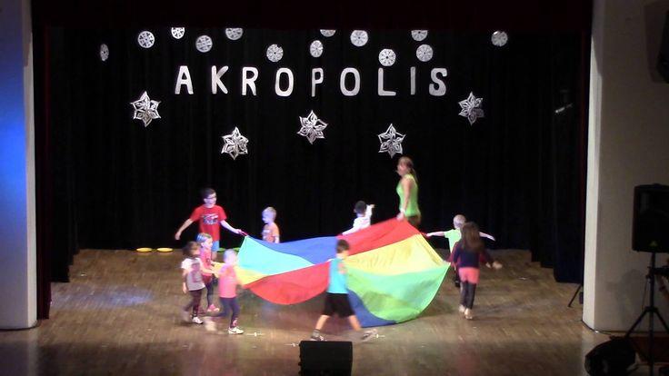 Vánoční vystoupení dětí z centra Akropolis 13.12.2015