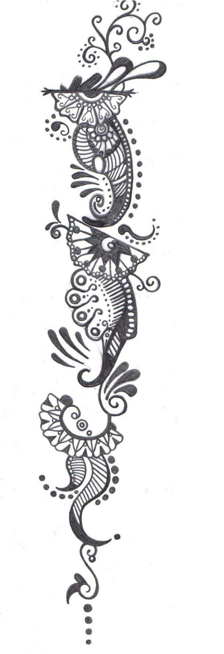 Henna tattoo charleston sc - Henna Sleeve Tattoo By Thegodessoflove On Deviantart