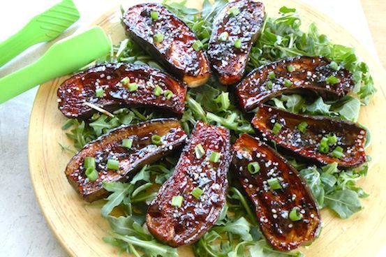 Vegan hoisin-glazed eggplant recipe | vegan summer recipes - vegkitchen.com