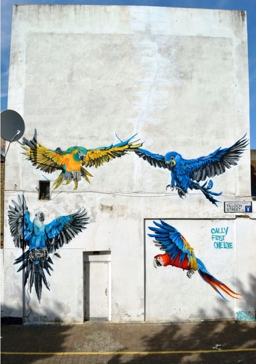 Global Street Art • Animal Magentism: Interview with Londons Masai