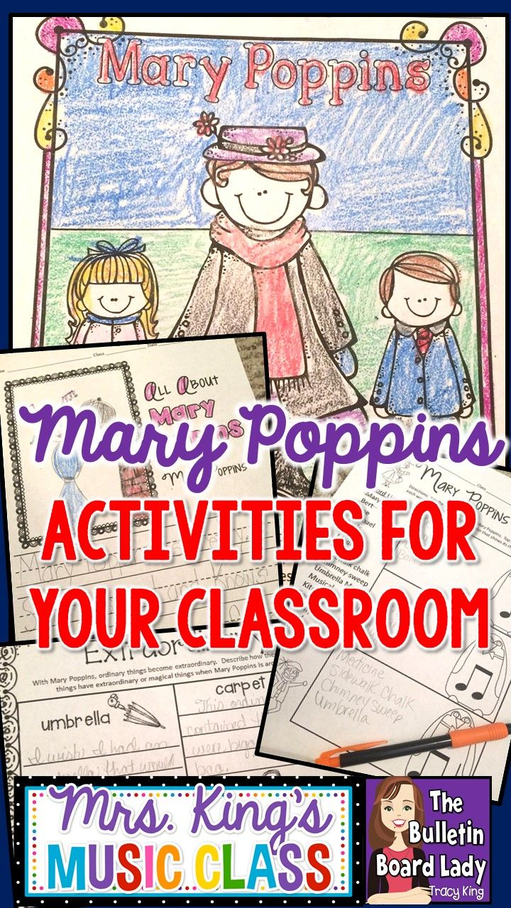 Mary Poppins Activities for Your Classroom