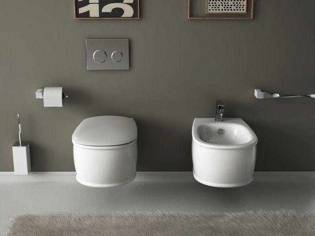 Azuley, design Meneghello Paolelli Associati. Collezione bagno di lavabi e sanitari. Sanitari sospesi / Wall hung sanitaries.  #bathroom #sanitaries #design #washbasin #lavabi #sanitari #bagno