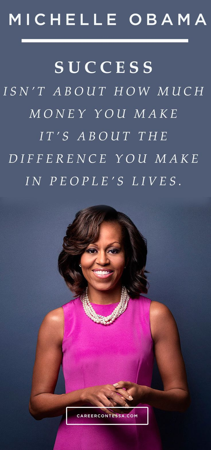 What kind of difference will you make? #ContessaQuotes #MichelleObama