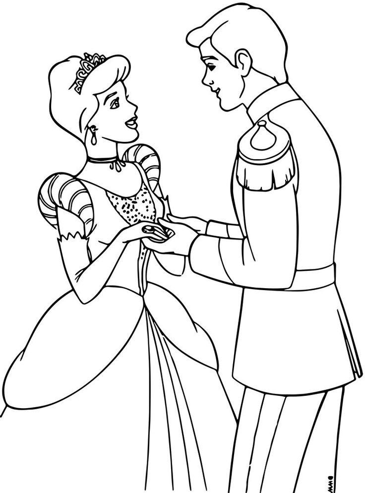 49++ Cinderella coloring pages prince information
