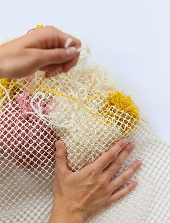 Φτιάξτε εκπληκτικά χαλιά pom-pom μόνοι σας   super Ιδέες!