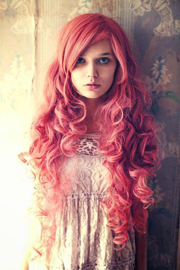 Couleur bleu sur cheveux rouge