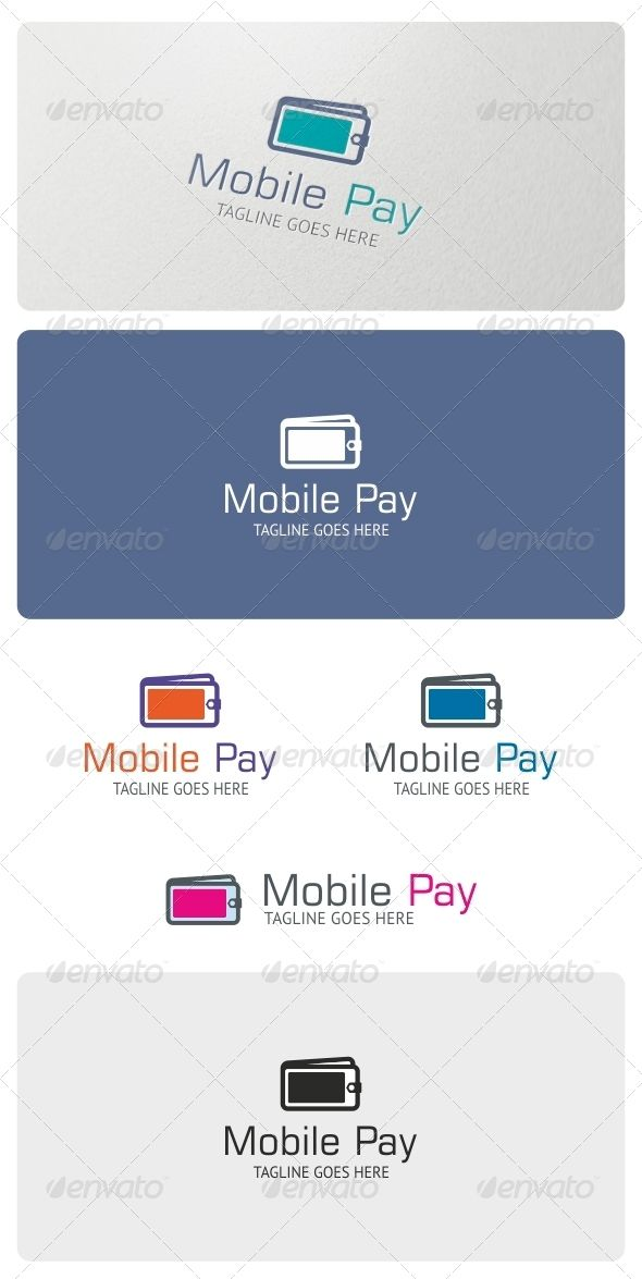 Mobile Pay Logo Template  #GraphicRiver         Mobile Pay Logo is highly suitable for online banking, mobile payment services and transactions. Also can be used for mobile apps, software, developers and other.  FFeatures:  3 Vector Files included: AI, EPS, and CDR   3 Color variations   1 Grayscale Version  1 Black & White Version     Fonts used:   Square 721 BT  PT-Sans     If you have any problems with your purchase feel free to contact me using my Profile Page      Please, don't forget…