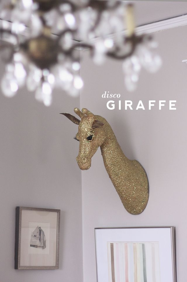 Aunt Peaches: Disco Giraffe #DIY