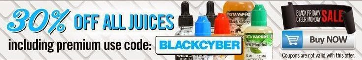 Vapor Joes - Daily Vaping Deals: BLACK FRIDAY:  VISTA VAPERS 30% OFF ALREADY LOW JU...