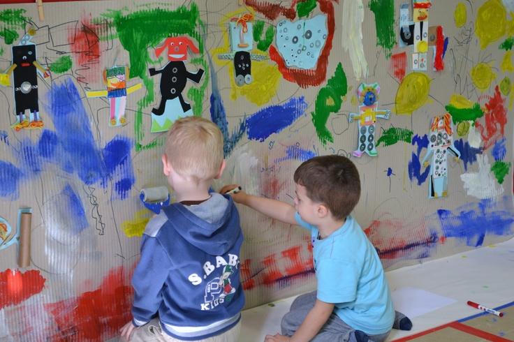 Painting robots! ARTincorpo