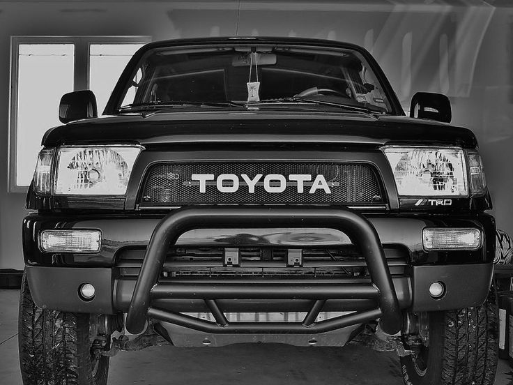 Satoshi Grille mod Toyota 3rd gen 4runner surf