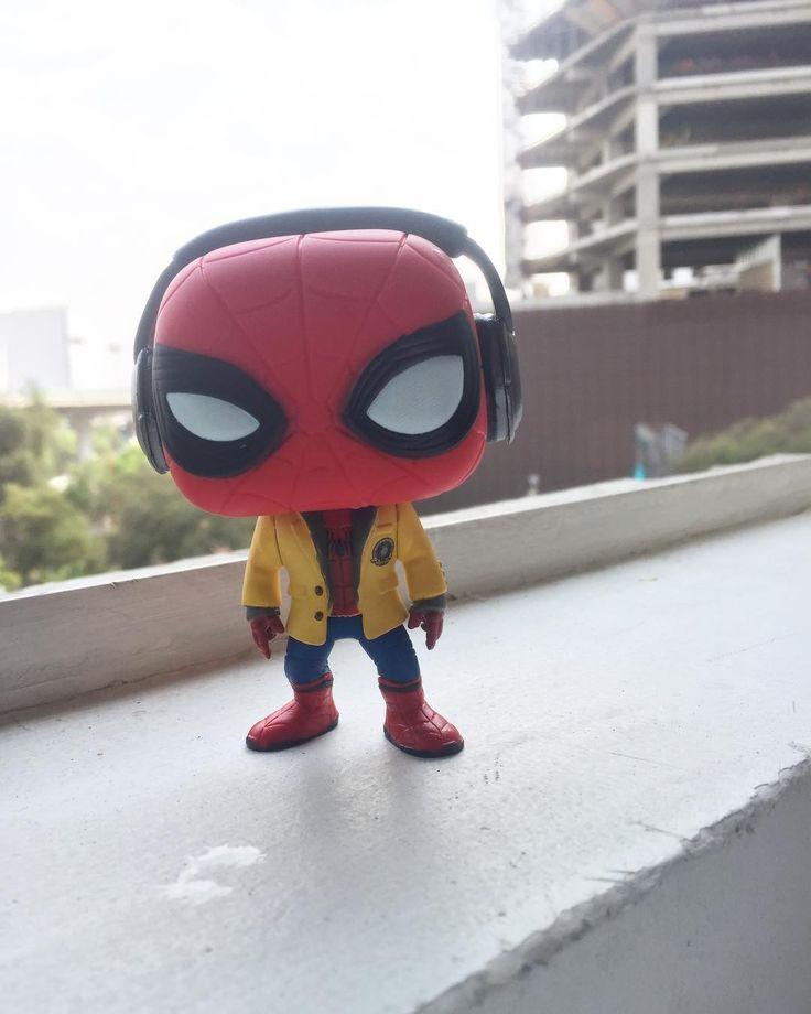Spidey  #funkopop #funko #pop #spiderman #spidey #spidermanhomecoming #hombrearaña #marvel #mcu #mcuspiderman