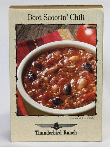 Boot Scootin' Chili – Thunderbird Ranch Gourmet Foods