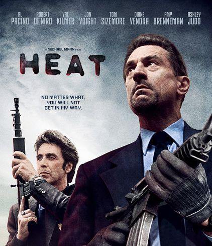 Heat Custom Blu-ray Cover