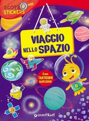 #Viaggio nello spazio. con adesivi pellegrino edizione Giunti kids  ad Euro 6.37 in #Giunti kids #Libri