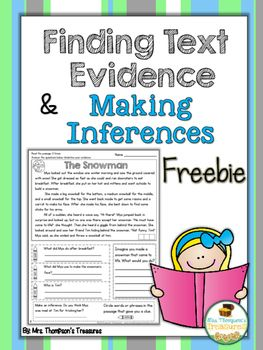 Help your students become more confident readers with this fun and interactive passage! This is one complete passage from my Text Evidence Pack. If you enjoy it, you may like the whole Text Evidence Reading Comprehension Passages Pack.