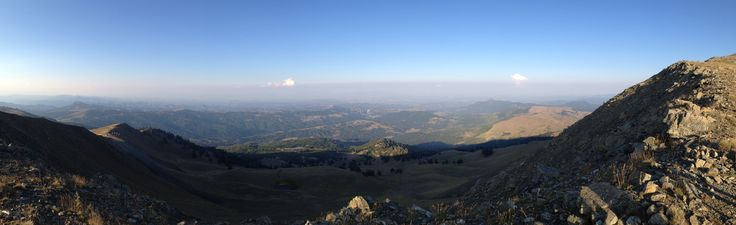 view from the top of Vasilitsa Mountain(2249 m),Smixi Grevena,Greece