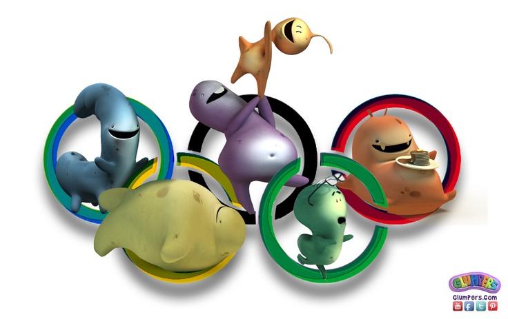 Cartoon Glumpers celebrating opening Olympics London 2012- Olympic games! Here's for the sport, a Golden medal to fair play and participation of all countries of the world! ----- Los Dibujos animados de los Glumpers estamos celebrando que comienzan las olimpiadas de Londres 2012, los juegos olímpicos! Por el deporte y para que consigan una medalla de Oro el juego limpio y todos los paises del mundo que participan!