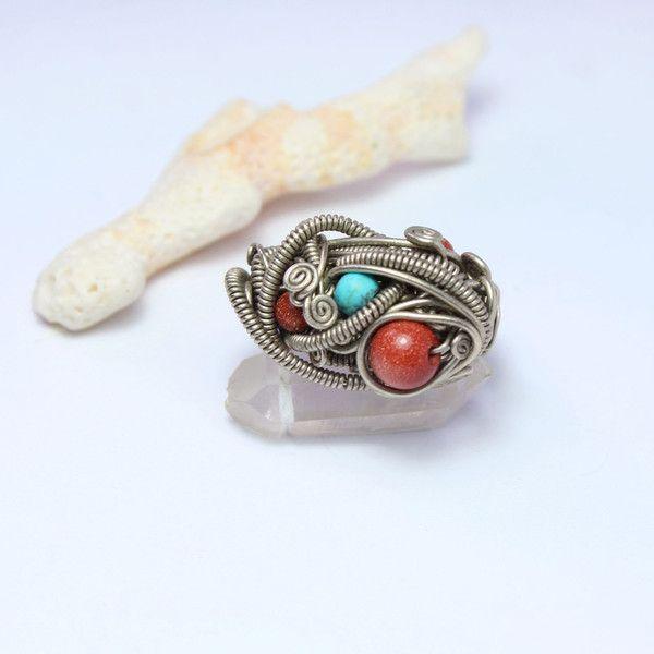 big+wrapped+ring+from+ArtePora+Craft+by+DaWanda.com
