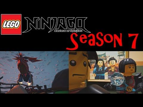 LEGO Ninjago Hands of Time Season 7. Trailer 2017 New Pictures