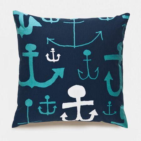 Ahoy Turquoise Pillows | Unison